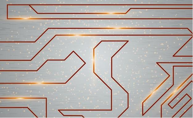 Futurystyczny techno tekstury, streszczenie technologia ilustracja. koncepcja graficzna dla twojego projektu