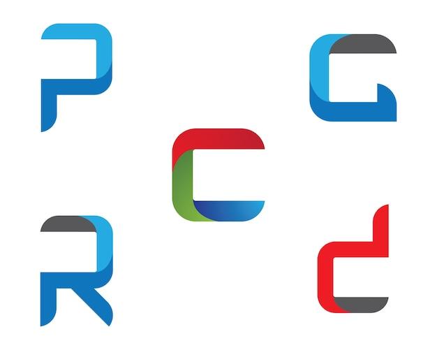 G listowego loga wektorowej ikony ilustracyjny projekt