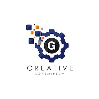 G logo danych biegów