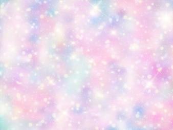 Galaktyka fantasy w tle i pastelowy kolor
