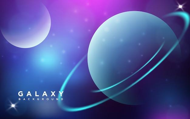 Galaxy streszczenie tle