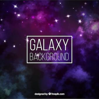 Galaxy w tle