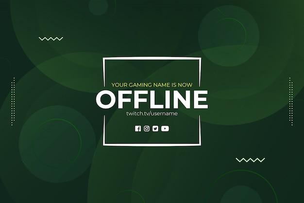 Gaming offline stream streszczenie geometrii tła