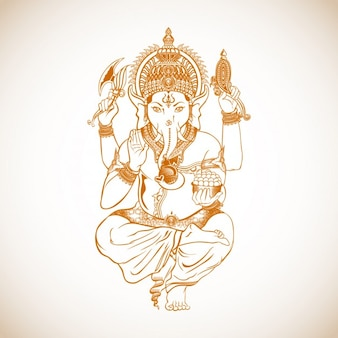 Ganesh Drawing