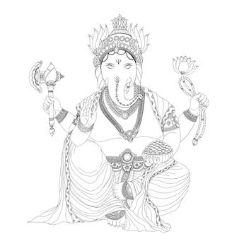 Ganesha jest bogiem sukcesu.