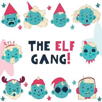 Gang elfów