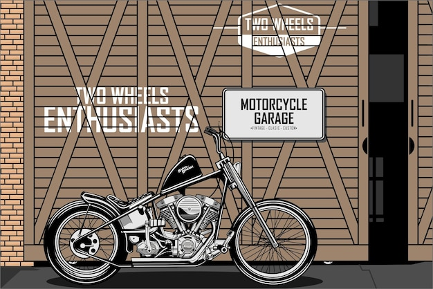 Garaż motocyklowy a