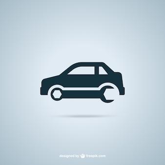 Garaż samochodów logo