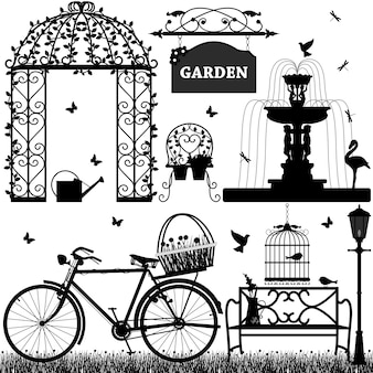 Garden park rekreacyjny.