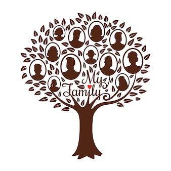 Genealogiczne drzewo genealogiczne