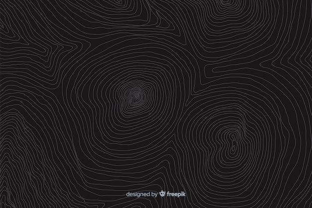 Geograficzne tło topografii linii