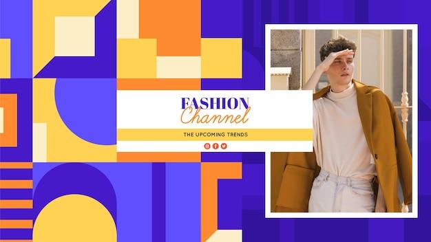 Geometryczna moda na kanale youtube
