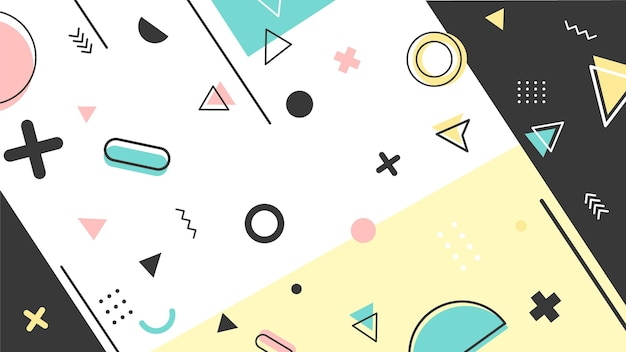 Geometryczna tapeta