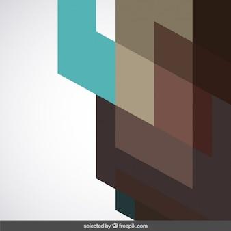 Geometryczna tło w odcieniach brązu