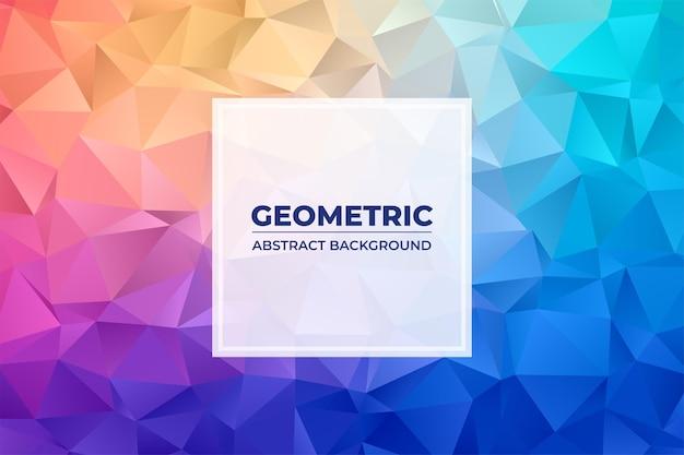 Geometryczne abstrakcyjne tło