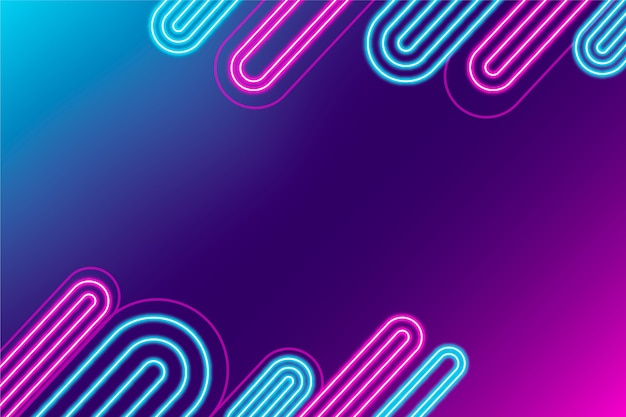 Geometryczne futurystyczne tło gradientowe