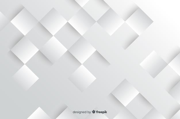 Geometryczne kształty tła stylu papieru