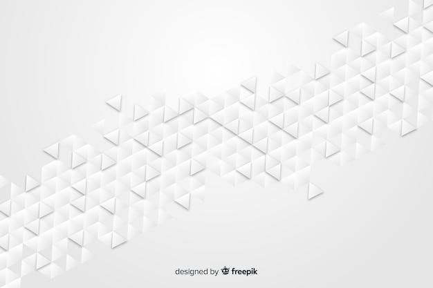 Geometryczne kształty tła w stylu papieru