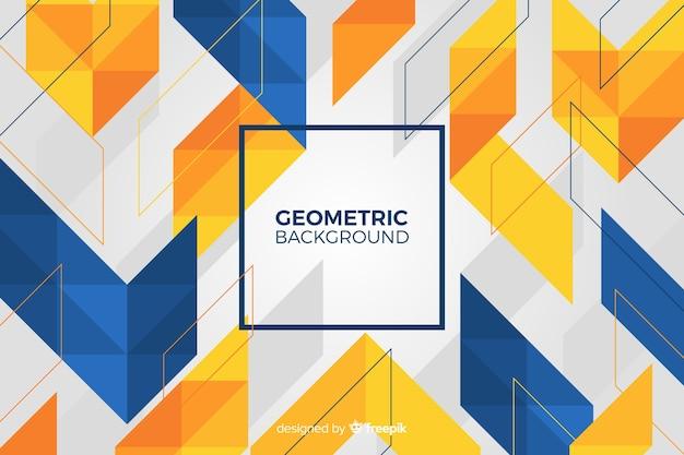 Geometryczne kształty tło