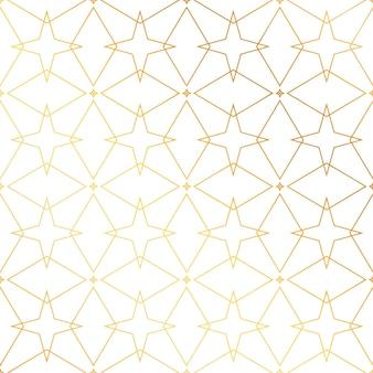 Geometryczne linie złote tło wzór