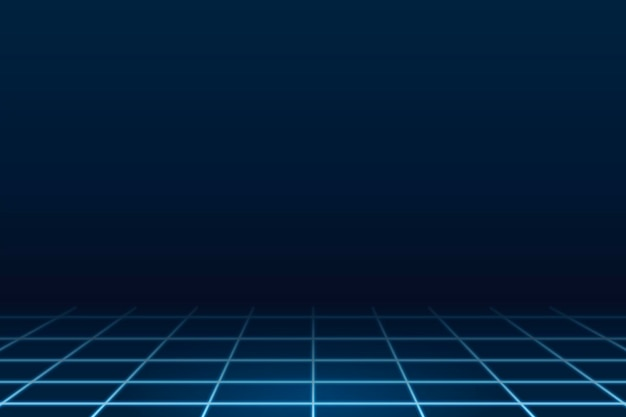 Geometryczne niebieskie tło technologii