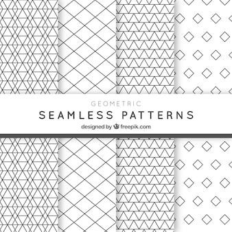 Geometryczne paczka wzorów
