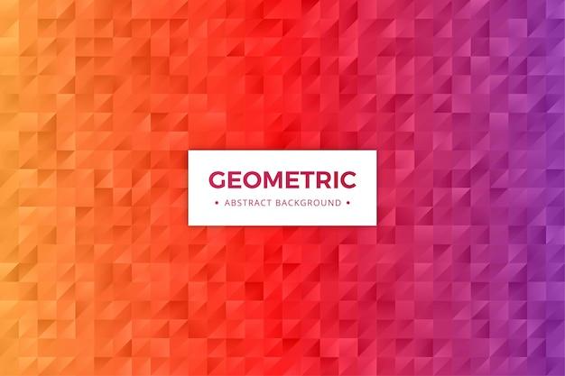 Geometryczne streszczenie tło