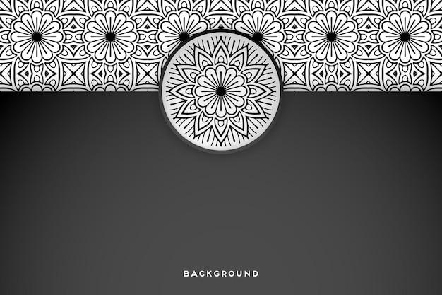 Geometryczne tło mandali