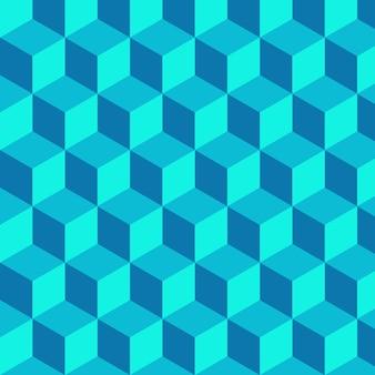 Geometryczne tło wektorowe kształty kostki