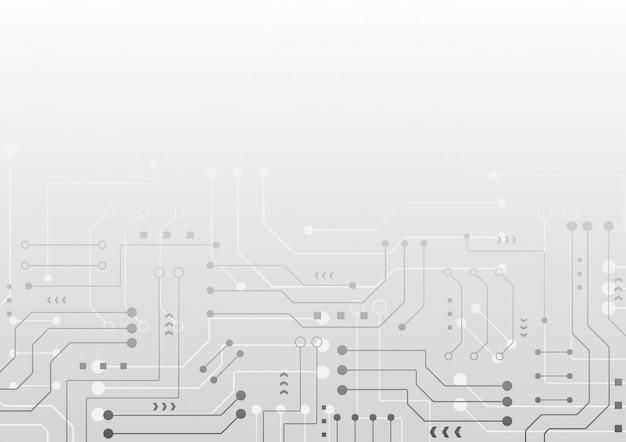 Geometryczne tło wysokiej technologii
