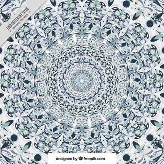 Geometryczne tło z abstrakcyjnych kształtów stylowe