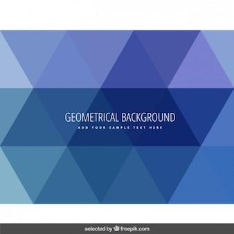 Geometryczne tło z trójkątnym wzorem