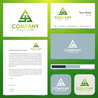 Geometryczne trójkątne logo js