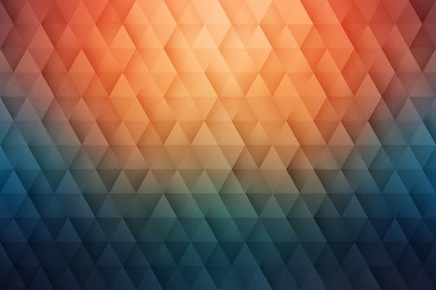 Geometryczne trójkątne tło