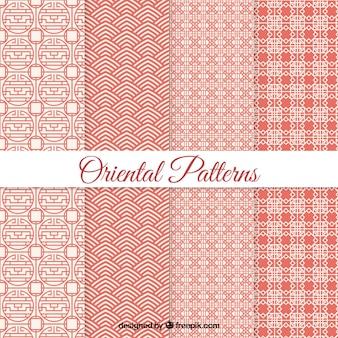 Geometryczne wzory orientalne