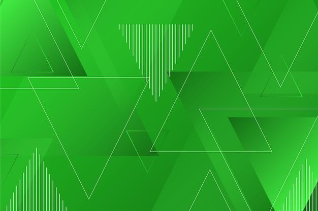 Geometryczne zielone tło