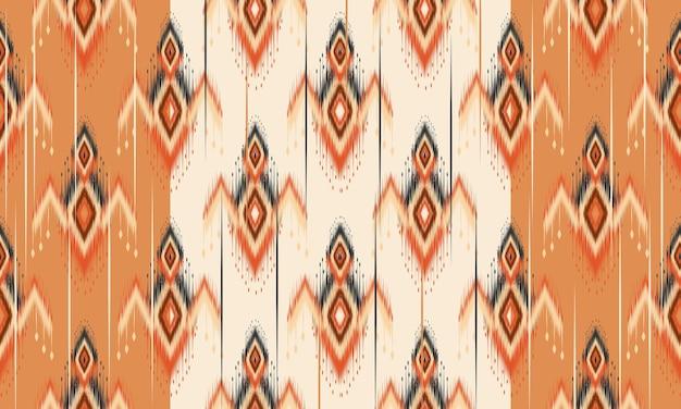 Geometryczny etniczny orientalny wzór ikat tradycyjny projekt tła, dywan, tapeta, odzież, opakowanie, batik, tkanina, wektor illustration.embroidery stylu.