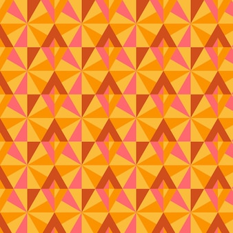 Geometryczny groovy wzór