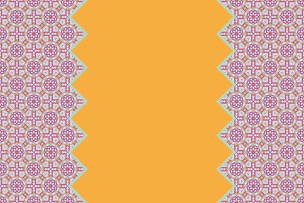 Geometryczny kolorowy bezszwowy wzór liniowy