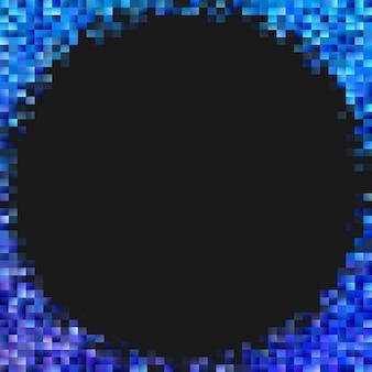 Geometryczny prostokąt mozaiki tło