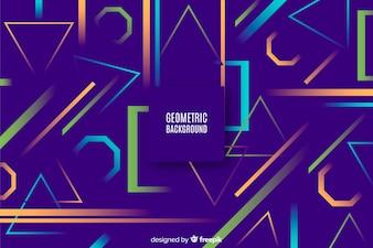 Geometryczny tło z gradientami