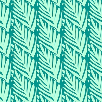 Geometryczny wzór dżungli. egzotyczna roślina. tropikalny wzór, liście palmowe bezszwowe tło kwiatowy.