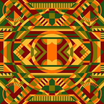 Geometryczny wzór etniczny