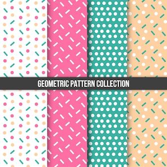 Geometryczny wzór kolekcja