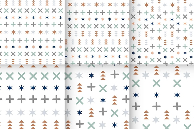 Geometryczny wzór memphis bez szwu geometryczne wzory memphis bez szwu abstrakcyjne wzory labiryntu