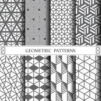 Geometryczny wzór tła strony lub tekstur powierzchni
