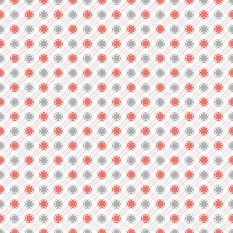 Geometryczny wzór w kolorach retro