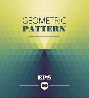 Geometryczny wzór w stylu kalejdoskop