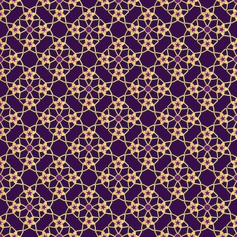 Geometryczny wzór z gwiazdami