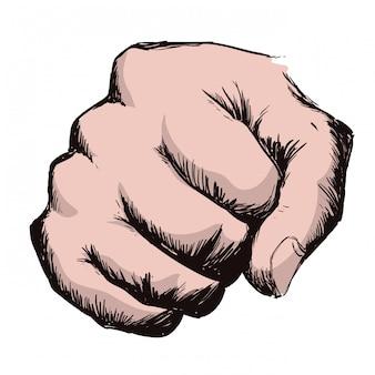 Gest ręki